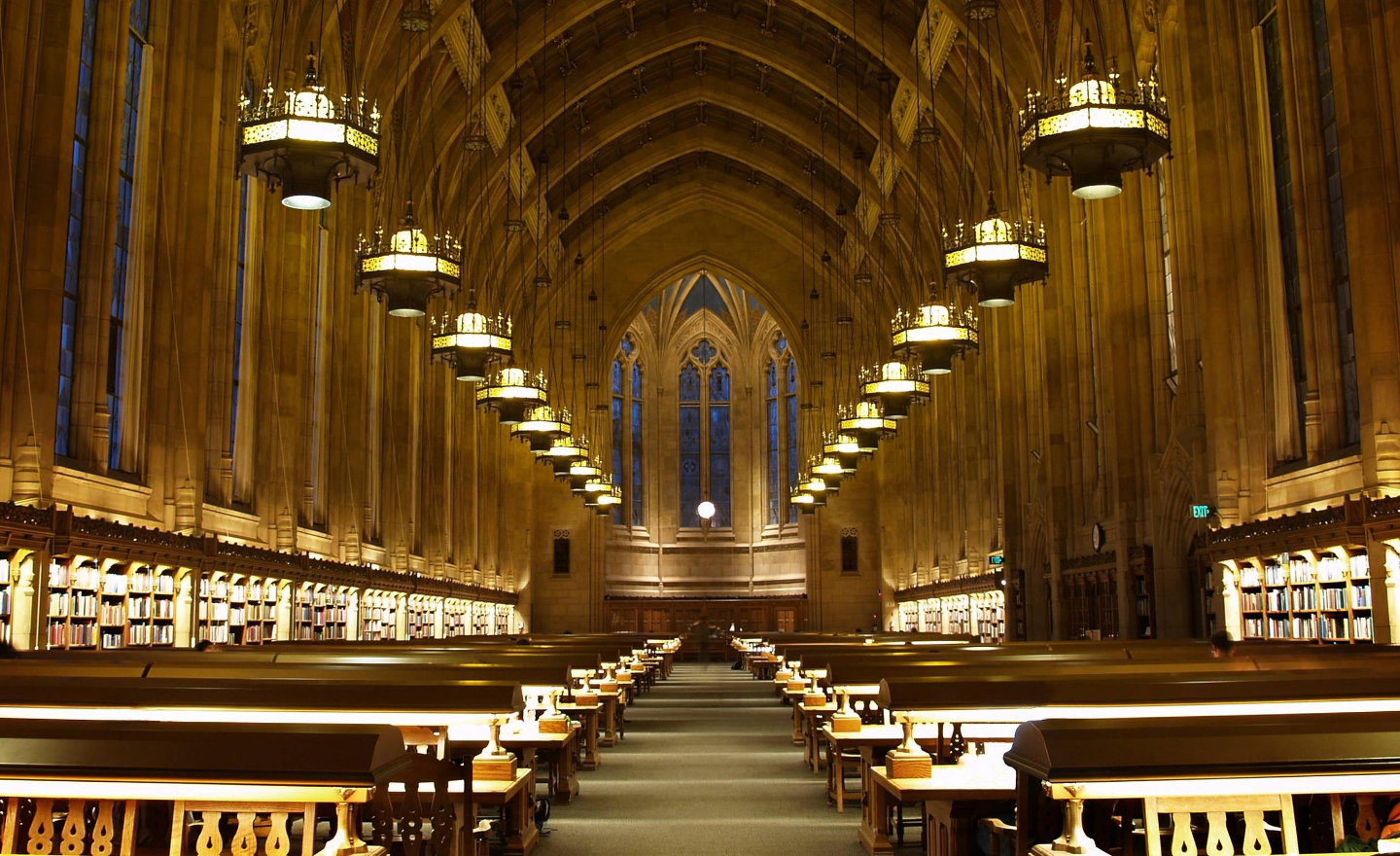 Suzzallo Library reading room at the University of Washington, Seattle